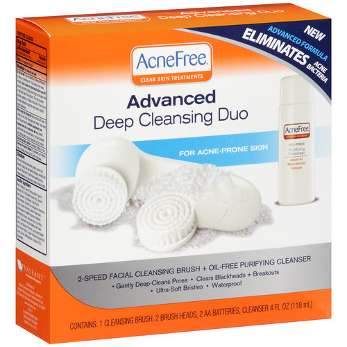 AcneFree Deep Cleansing Duo, 6 pc