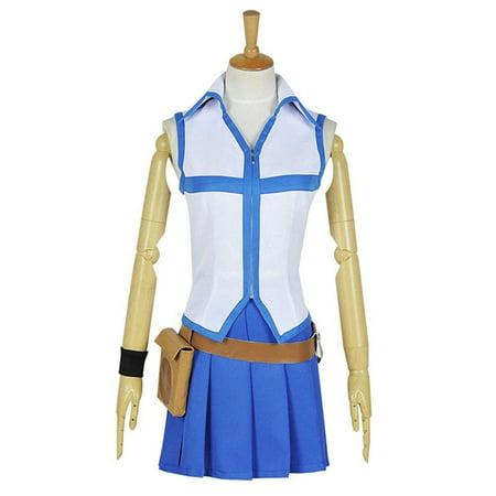 Cosplaynow Fairy Tail Wizard Lucy Heartfilia Cosplay Costume White