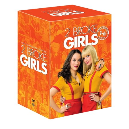 2 Broke Girls: The Complete Series (1-6) (DVD)