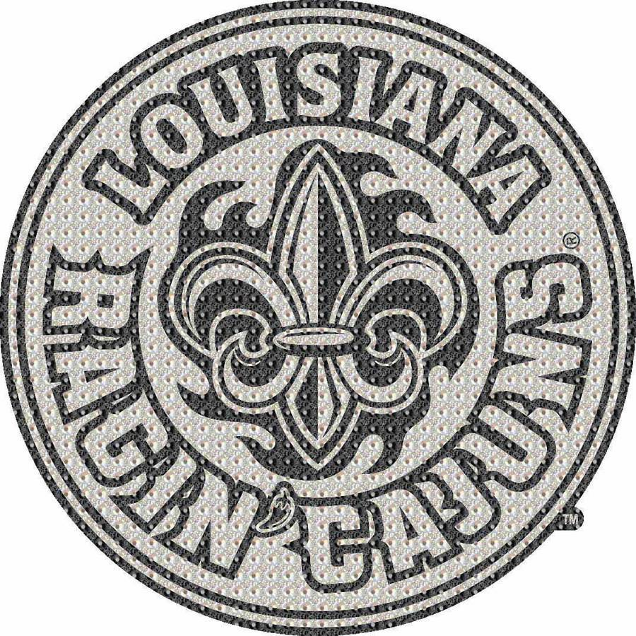 NCAA Louisiana at Lafayette Bling Emblem