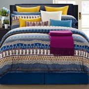 EverRouge Aladdin 300-Thread-Count 8-Piece Cotton Bed in a Bag Bedding Set
