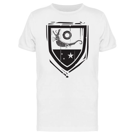 Heraldic Shield Crocodile Tee Men's -Image by Shutterstock