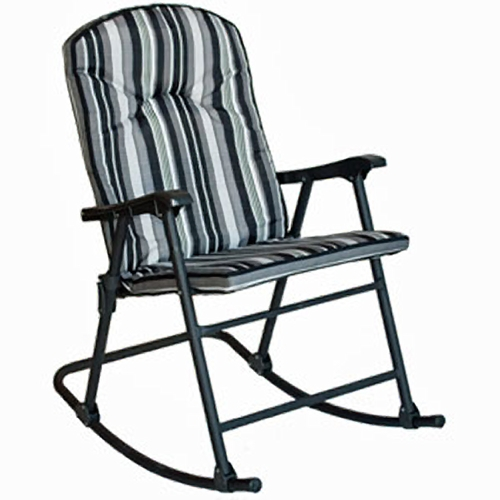 Prime Products 13-6808 Cobalt Black Cambria Padded Rocker