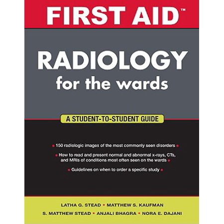 First Aid Radiology For The Wards Walmart Com border=