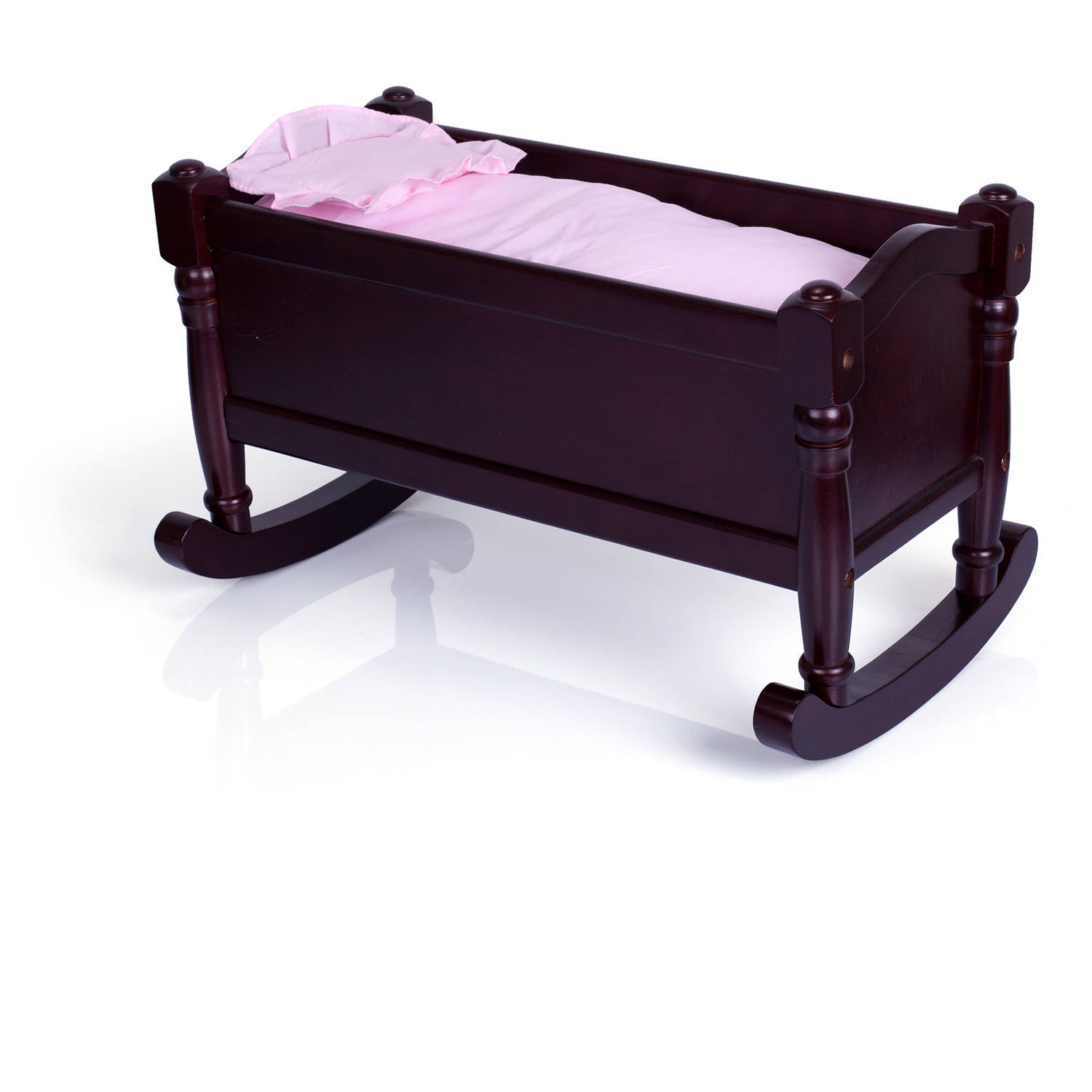 Guidecraft Doll Cradle, Espresso