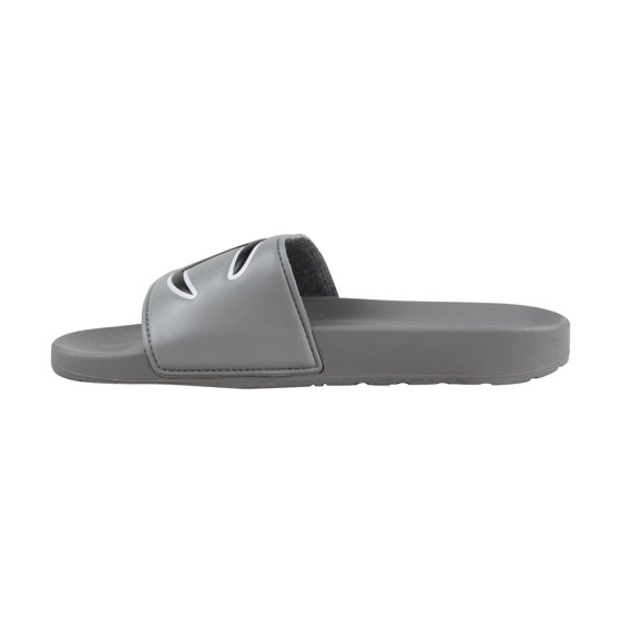 d645989d57107 Champion - Champion Ipo Mens Gray Leather Slide Slip On Sandals ...