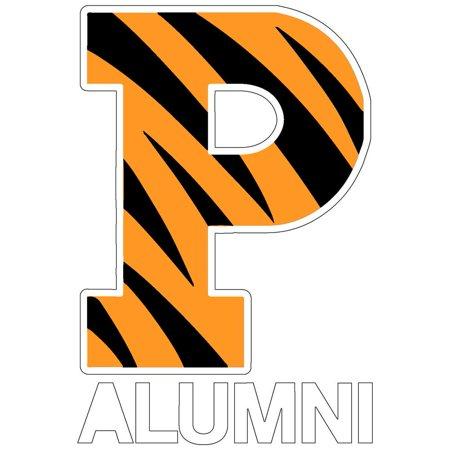 - Princeton Tigers Transfer Decal - Alumni