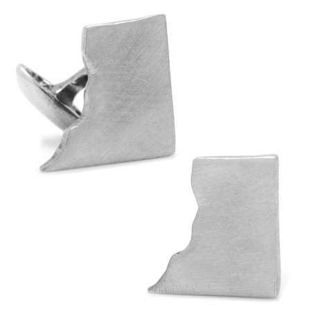 Men's Cufflinks Inc Pewter District of Columbia Cufflinks