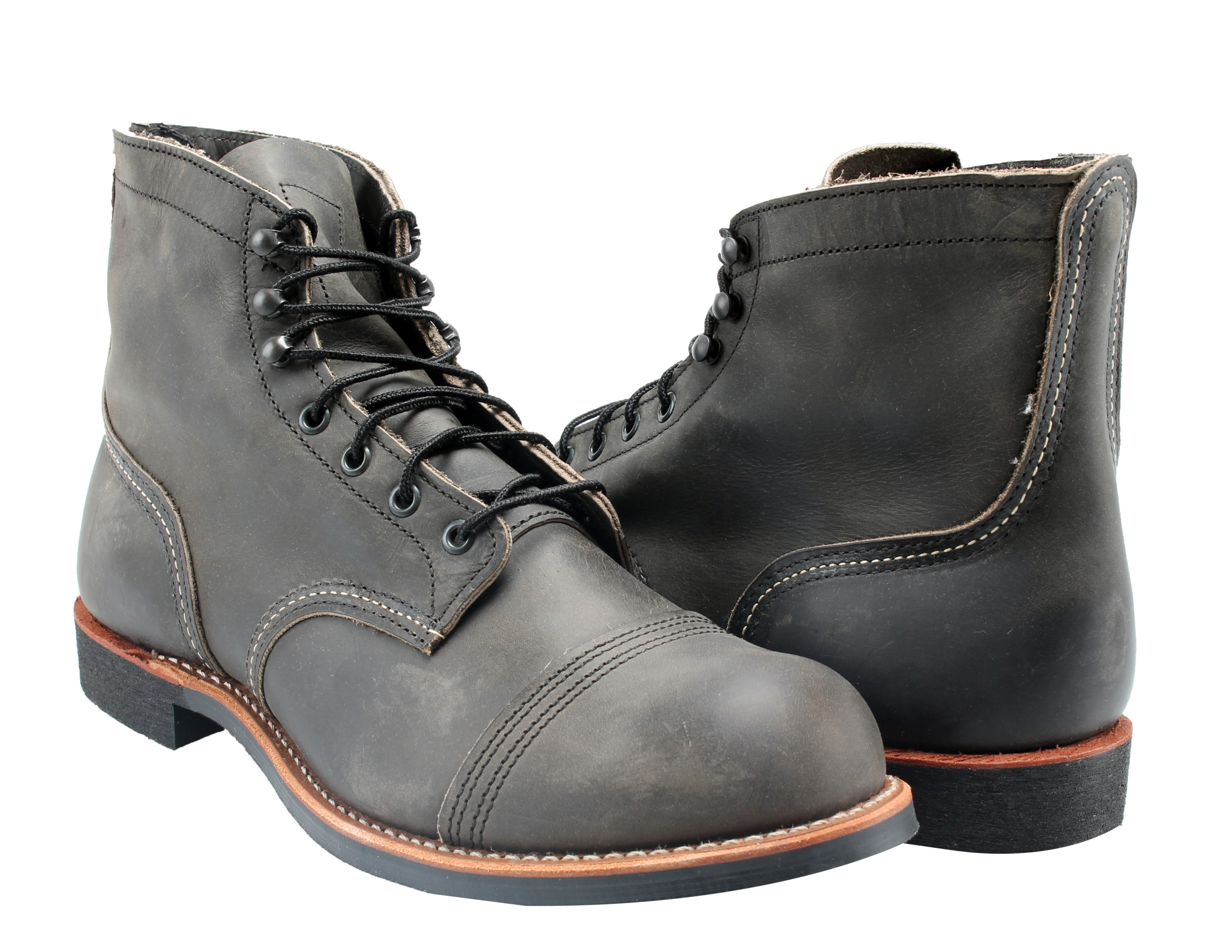 Red Wing Heritage Mens Iron Ranger 6 Vibram Boot Red Wing Shoes