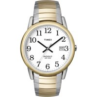Timex Men's Easy Reader Date 33mm Stainless Steel Expansion Band Watches