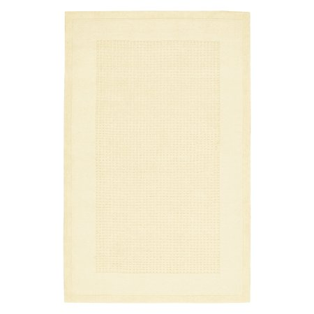 White Grid (Nourison Westport Textured Grid Runner, 2'3