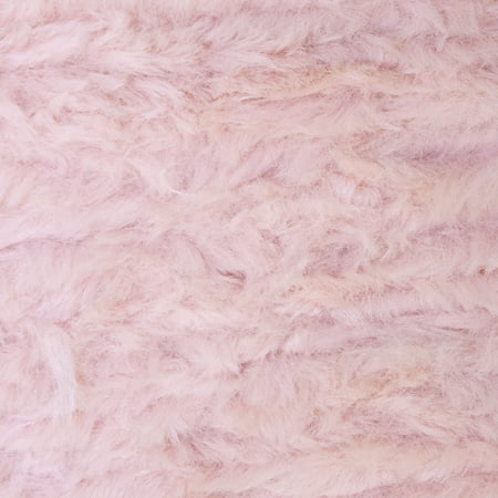 Lion Brand Yarn GO FOR FAUX Pink Poodle 3 Pack Novelty