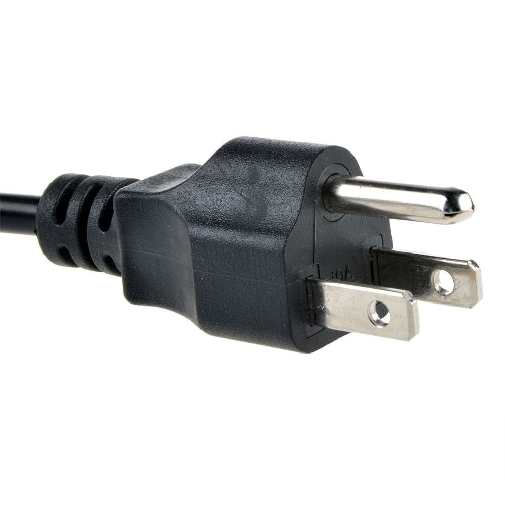 NEW NEC NP50 NP61 NP62 NP64 DLP Projector ACPower Cord Cable Plug Black