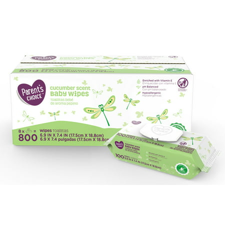 Huggies One & Done Baby Wipes, Cucumber & Green Tea