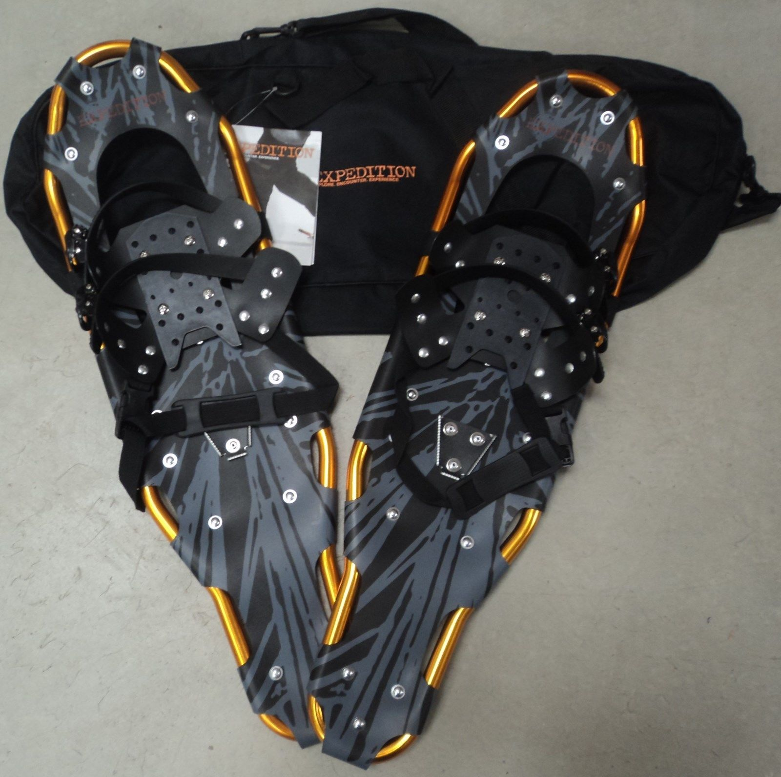 Expedition Premium Hike and Trail Snow Shoes, Orange EXP-EPSS-36 by