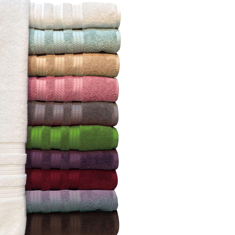 "100% Cotton Luxury Bath Towel - 30"" x 58"" - Grey"