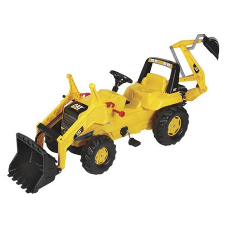 - KETTLER CAT Backhoe Tractor Pedal Riding Toy