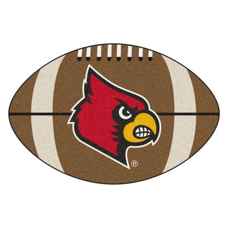 Louisville Football Rug - University of Louisville Football Mat