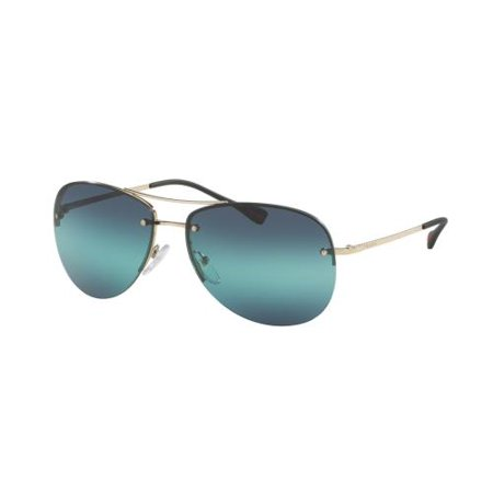 PRADA SPORT Sunglasses PS50RS ZVN5T2 Pale Gold 62MM