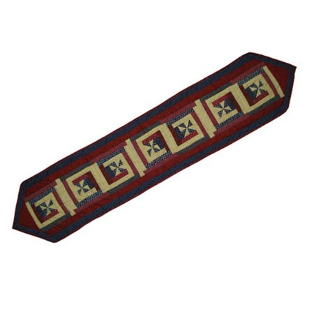 Patch Magic Midnight Log Cabin Table Runner