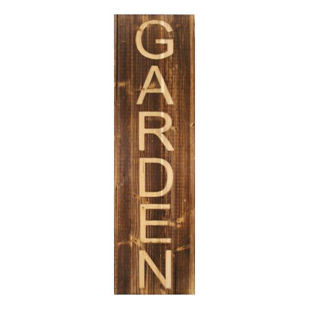 Stratton Home Decor Wood Garden Panel Wall Décor ()