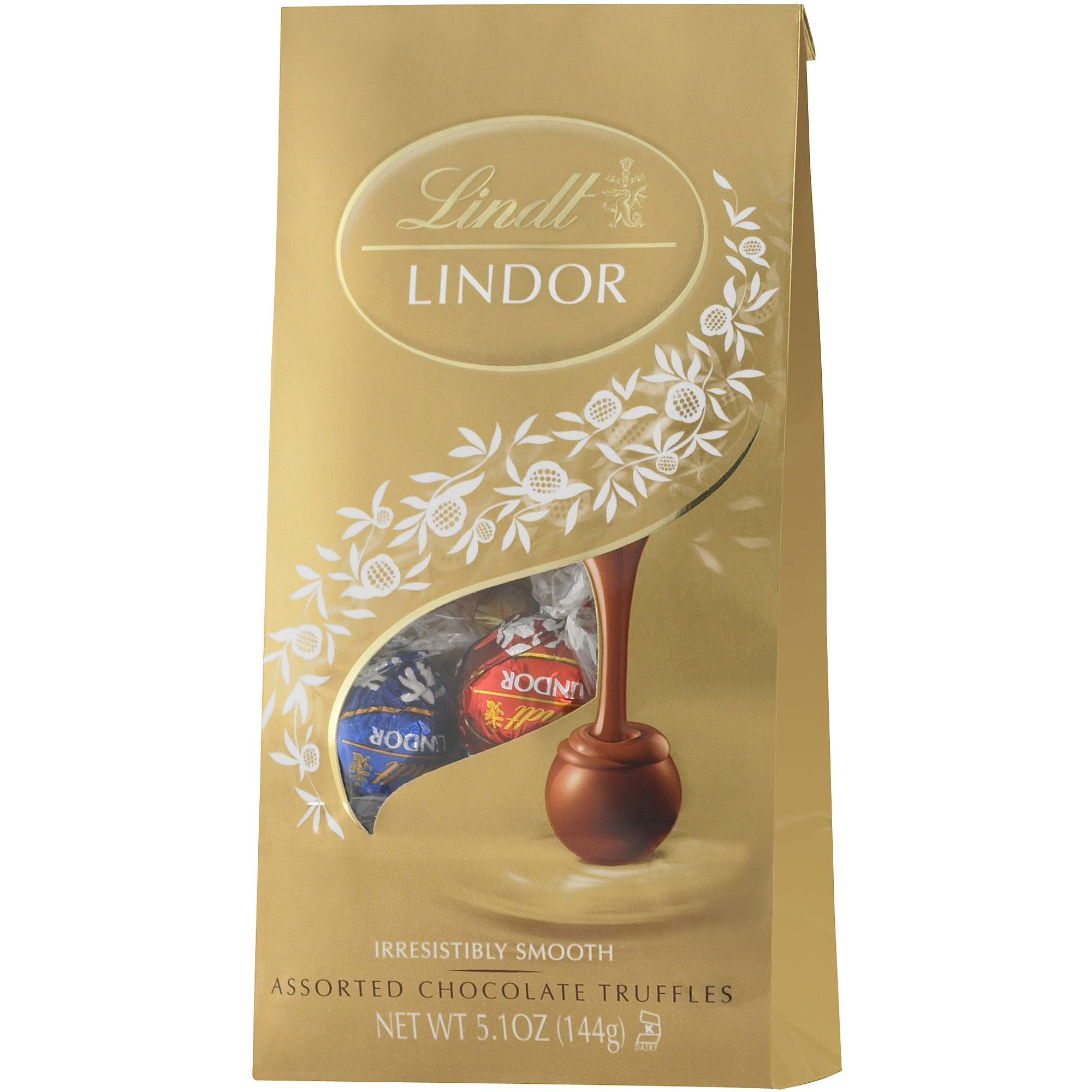 Lindt Lindor Assorted Chocolate Truffles, 5.1 OZ by Lindt & Sprungli