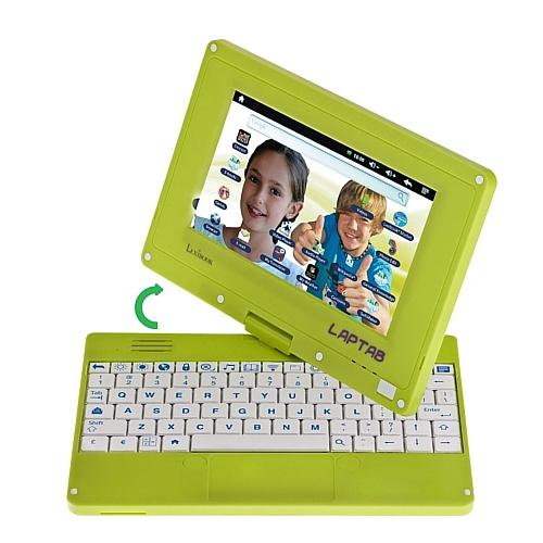 "Lexibooks Laptab 7"" Tactile and Rotary Screen Android 4.0 Wi Fi USB Green MFC140EN"