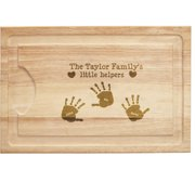 Personalized Kitchen Helpers Wood Cutting Board