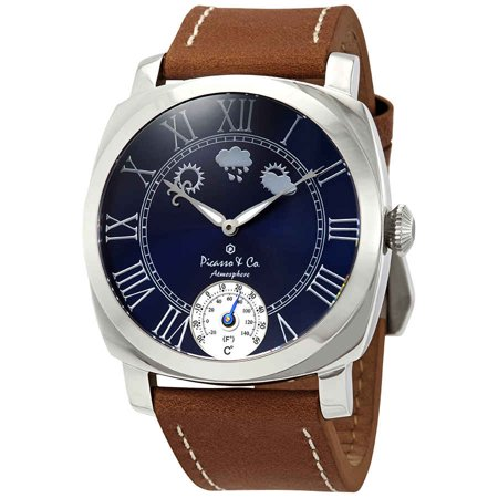 Picasso and Co Atmosphere Navy Blue Dial Men's Watch PWATMBLS Dark Navy Blue Dial