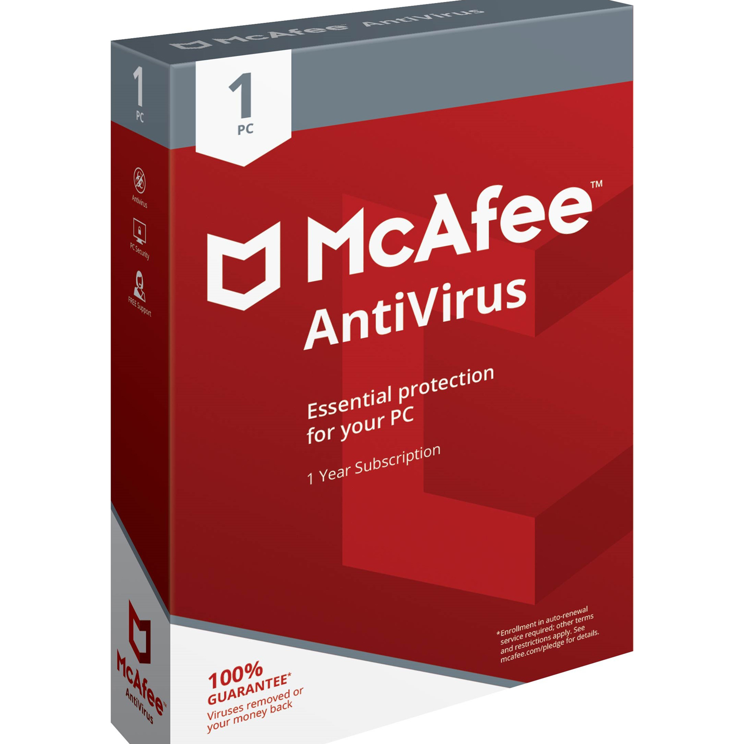 McAfee AntiVirus 1 PC