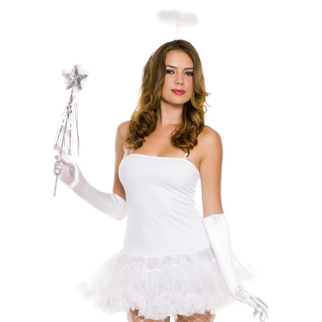 Angel Halo, Wand & Gloves Accessories Kit - White - image 1 of 1