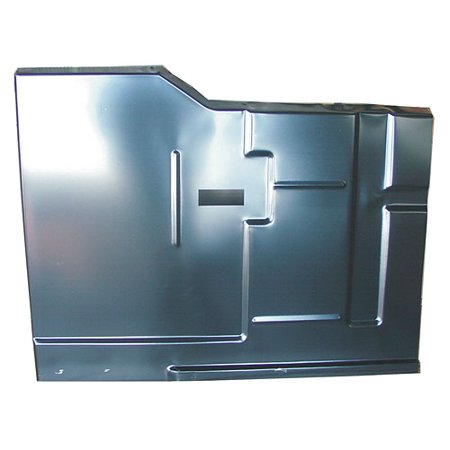 Auto Metal Direct 410-4373-L Steel Floor Pan - Cab Floor Section 1973-1980 Blaze (Floor Pan Section)