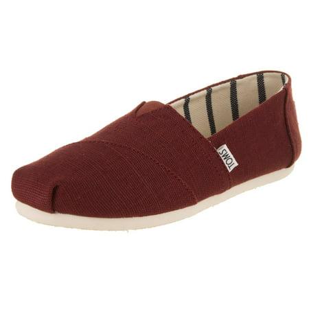 Toms 10011678: Women's Classic Casual Black Cherry Sneaker