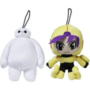 Big Hero 6 Small Plush, 2-Pack, Baymax and Go Go Tomago