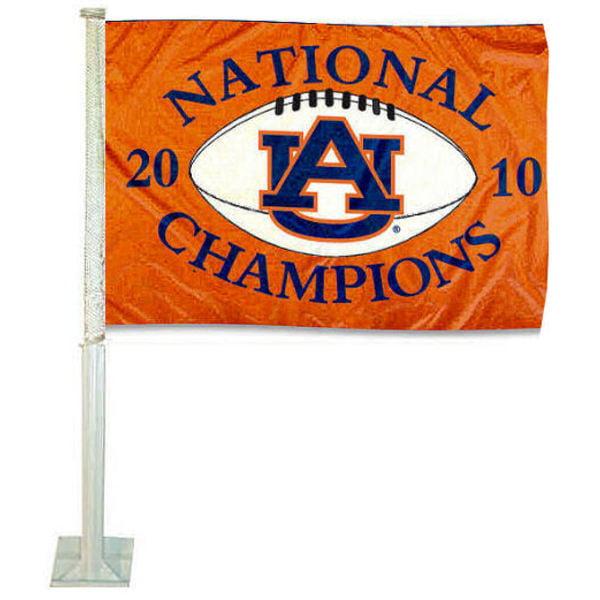 """Auburn University 12"""" x 15"""" Car Flag"""