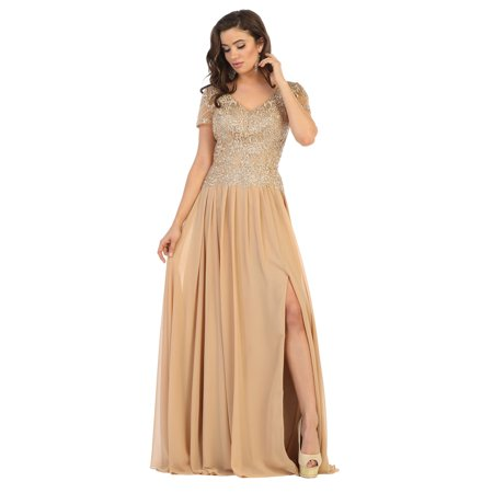 Formal Dress Shops Inc - SPECIAL OCCASION PLUS SIZE EVENING GOWN -  Walmart.com