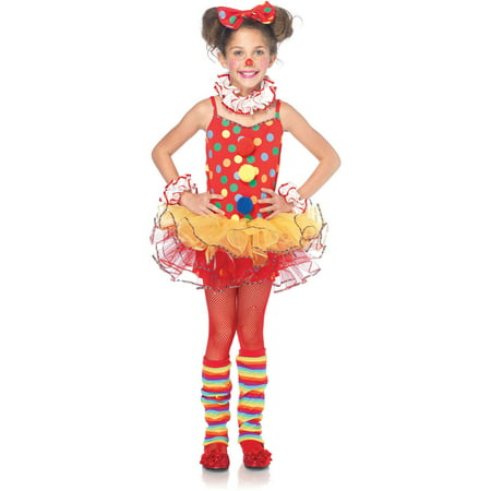 Circus Clown Toddler Halloween Costume](Circus Freaks Halloween Ideas)