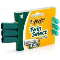 Bic Twin Select Shavers For Sensitive Skin 3 ea (Pack of 3)