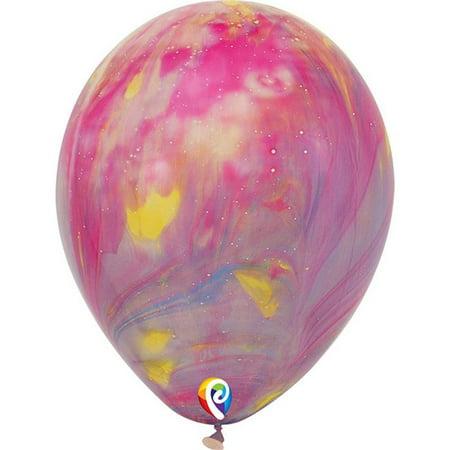 Pioneer Balloon PBN58021 12 in. Tye Dye Balloons, Pack of 6](Tye Dye Balloons)