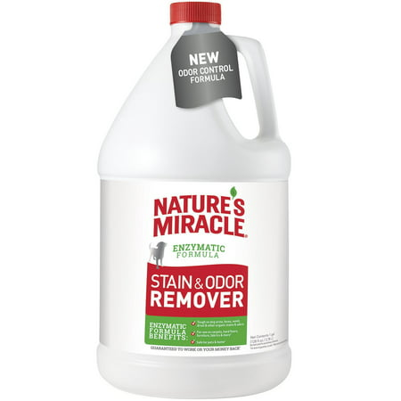 Nature's Miracle Dog Stain and Odor Remover 128oz (Natures Miracle Pet Wipes)