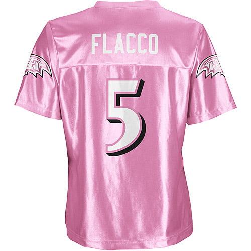 NFL - Women's Baltimore Ravens #5 Joe Flacco Jersey