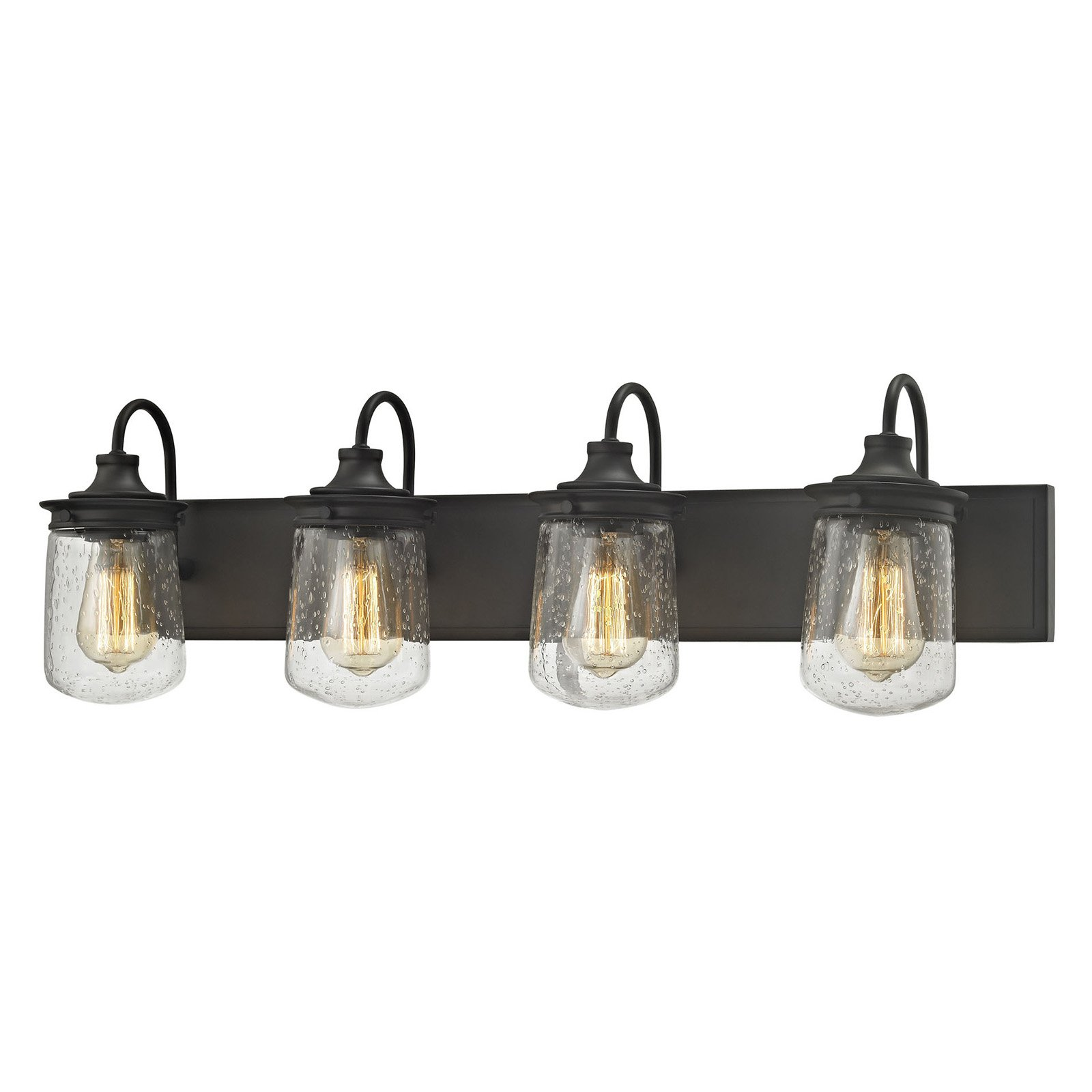 Elk lighting hamel 81213 4 bathroom vanity light