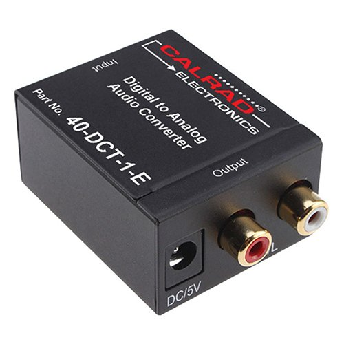 Calrad 40-DCT-1 Digital to Analog Audio Converter