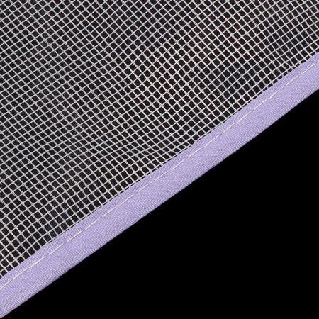 Laundry Polyester Mesh Press Flat Protective Cloth Ironing Insulation Mat Purple - image 2 of 3