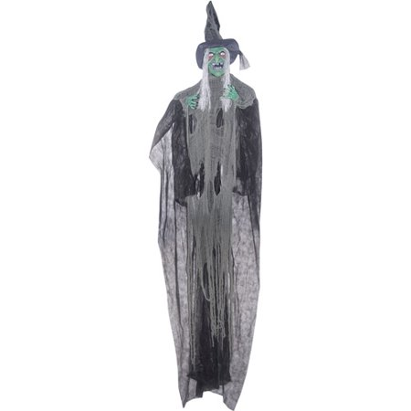 12' Witch Hanging Halloween Decoration