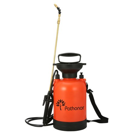 Pump Action Pressure Sprayer for Use with Water, Fertilizers or Pesticides 4 litre capacity Car wash-1 (Best Pump Sprayer For Stain)