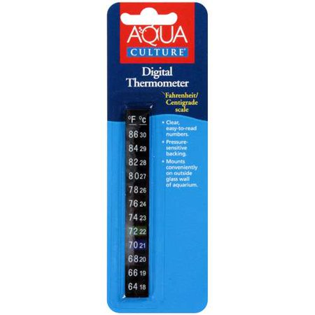 Aqua culture digital aquarium thermometer 1 ct for Aquarium thermometer