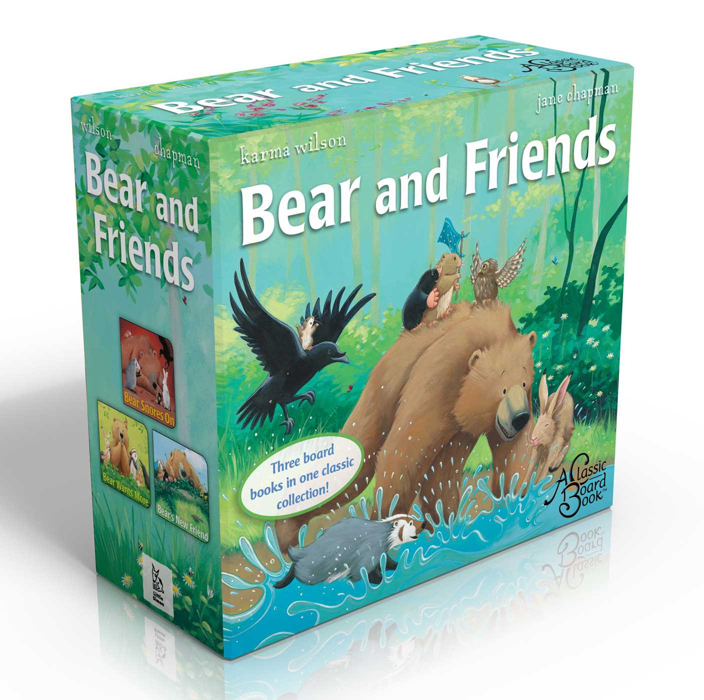Bear and Friends: Bear Snores On; Bear Wants More; Bear's New Friend (Boxed Set) (Board Book)