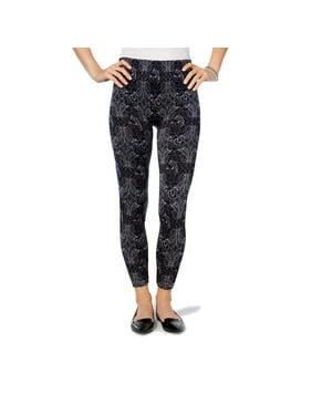 Hue First Looks Women Seamless Rayon Blend Leggings Pants