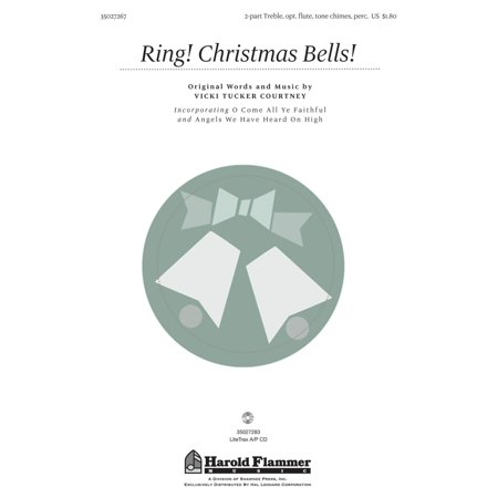 Christmas Shawnee Press - Shawnee Press Ring! Christmas Bells! 2PT TREBLE composed by Vicki Tucker Courtney